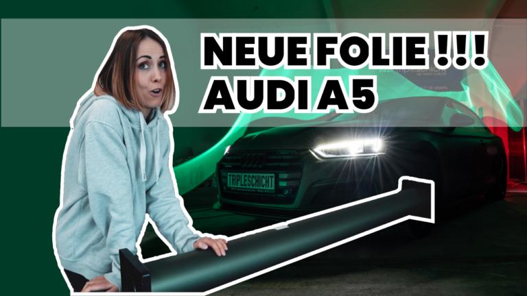 Neue Avery Dennison Folie für den Audi A5 auf YouTube
