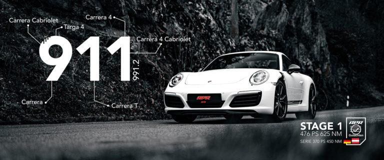 Titelbild APR Stage 1 Porsche 991.2