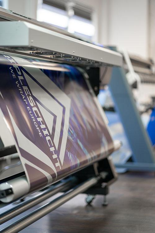 Digitaldruck mit einem Roland EJ-640